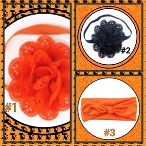 🎃New🎃Headbands 🎃You Pick the Color🎃